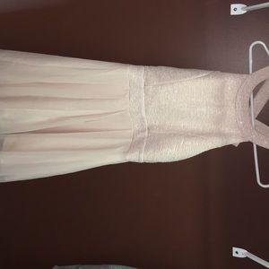 Semi short woman's dress